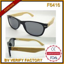 Mode-2015 neue Bambo Tempel Sonnenbrille (F6416)