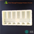 Customzied Beflockung thermogeformten Kunststoff-Tablett