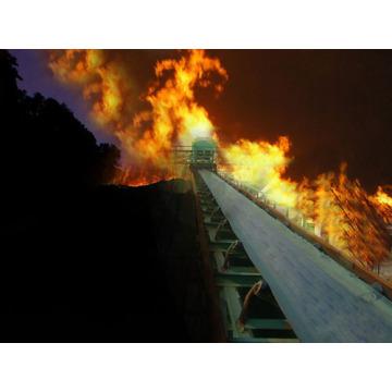 Огнестойкий конвейерный пояс