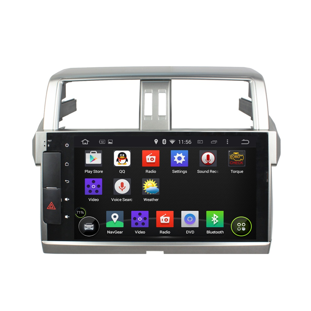 PRADO 2014-2015 deckless CAR dvd player