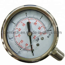 China Wholesale Stainless Steel Pressure Gauges