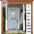 Glass Oval Lite Primed Prehung Front Door