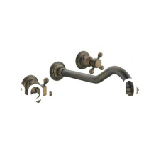 3 Holes Wall Mounted Antique Bathtub Faucet Qh001-22A
