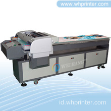 8-warna Digital Flatbed Printer tas/dompet