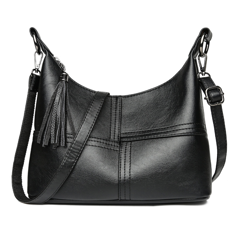 New Hot Leather Trendy Bags For Girls Handbags