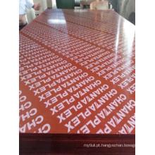 Linyi filme fenólico bp enfrentou madeira compensada com marca