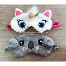 Graubär Augenbinde mit Stickerei