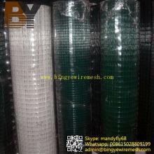 Reforzamiento de malla soldada recubierta de PVC