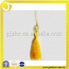 Золотая полиэстерная декоративная кисточка