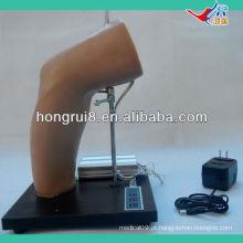 Modelo de treinamento de injeção intra-articular do cotovelo Deluxe ISO, injeção articular