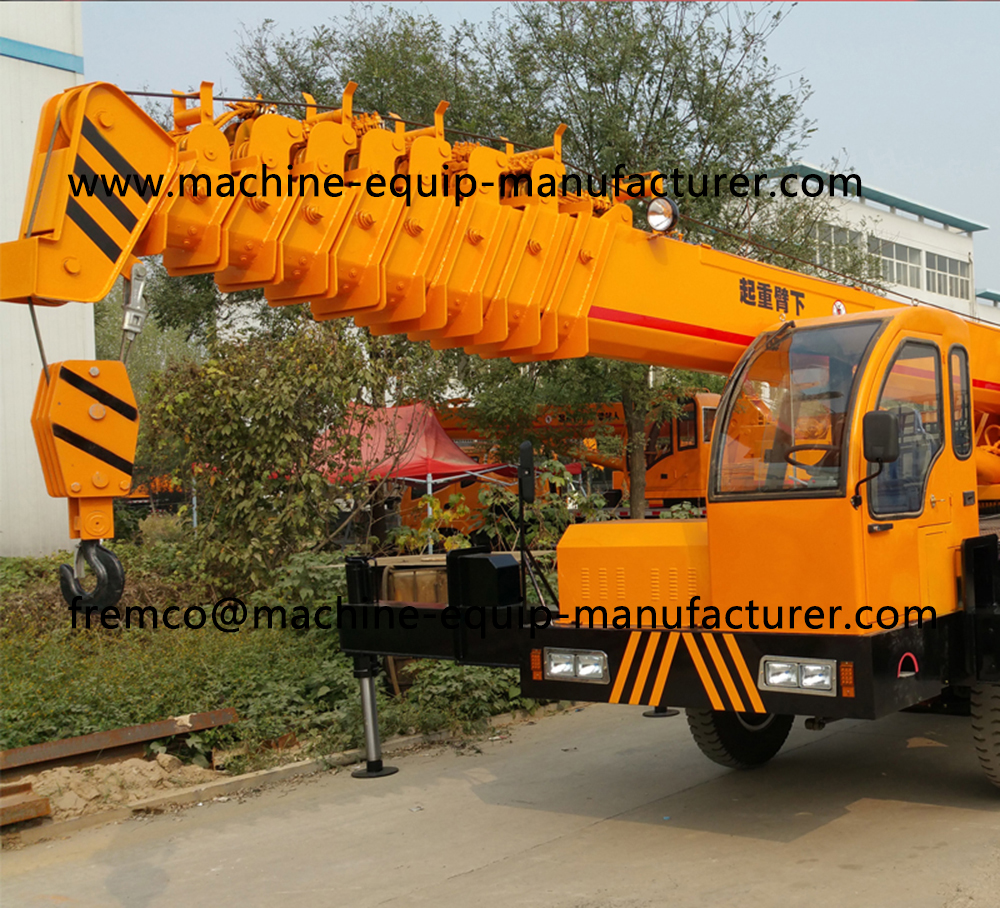 mobile crane truck mounted
