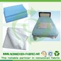 Tela no tejida PP Spunbond perforada para Bedsheet