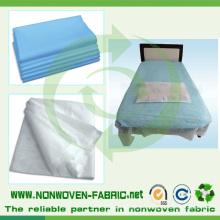 Перфорированная полипропиленовая нетканая ткань Spunbond для постельного белья