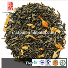 Hot sale flavored jasmine green tea from tea manufacturer