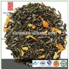 Venda quente com sabor de chá verde jasmim do fabricante de chá