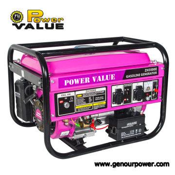 Fio de cobre silencioso portátil de Honda 2.5kw 100% do gerador da gasolina do valor do poder