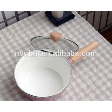 printed enamel sauce pan pot for cooking