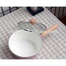 printed enamel sauce pan pot for cooking