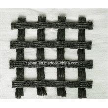 Haisan Bitumen Coated 30 / 30kn Polyester Haustier Geogrid für den Straßenbau