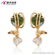 91028 Fashion Elegant 18k Gold-Plated Imitation Jewelry Earring for Woman Girls