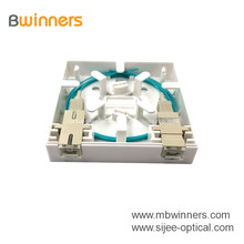 Fabrik Schnelle Lieferung 2 Core Fiber Optic Wandsteckdose FTTH Mini-Buchse