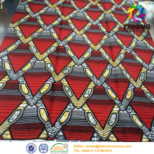African cera donne abito tessuto