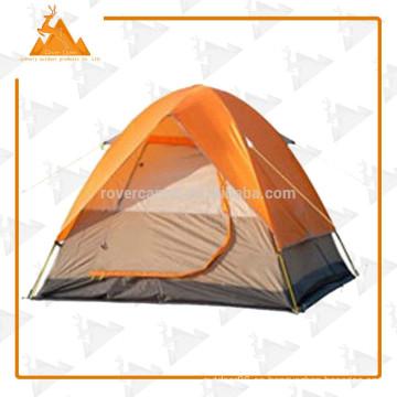 Carpa exterior doble bicapa aluminio poste camping tienda 1-2 personas