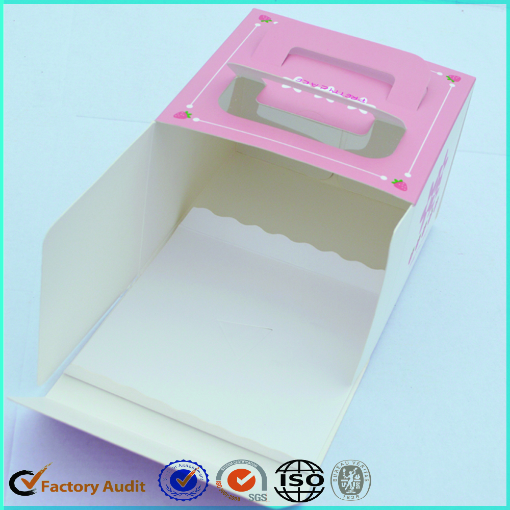 Pink+Paper+Cake+Boxes+Packaging+Wholesale