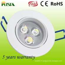 Luminaires encastrés LED de haute qualité (ST-CLS-B01-3W)