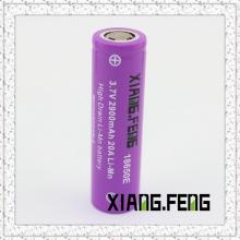 3.7V Xiangfeng 18650 2900mAh 20A Batteries à batterie au lithium rechargeable Imr