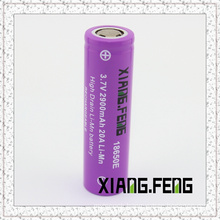 3.7V Xiangfeng 18650 2900mAh 20A Imr Rechargeable Lithium Battery Batterys