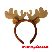 Plush Christmas Reindeer Hairpin