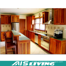 Classic Style Veneer Kitchen Cabinet Furniture (AIS-K197)