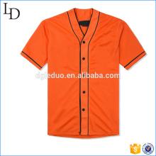 Ретро-стиль изготовленный на заказ рубашка футбола пустым бейсбол мужчины футболки