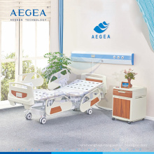 AG-BY004 Electric adjustable bed board with abs joints patient medicare hospital hi-low bed