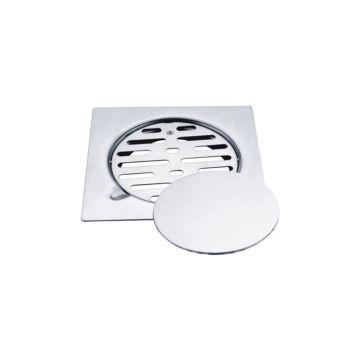 Square Strainer Shower Insert Floor Drain