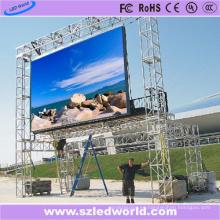 La pantalla LED de fundición a presión a todo color al aire libre de P8 hizo hecho en China