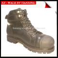 Zapatos de seguridad de buena calidad con cuero genuino y puntera de acero