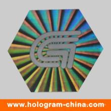 Anti Fake Secure Genuine Hologramm Aufkleber