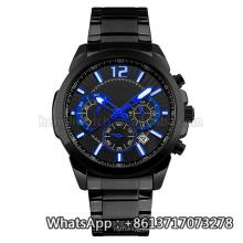 Reloj de cuarzo de estilo nuevo, reloj de acero inoxidable Hl-Bg-191