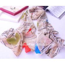 Chiffon Schal Halskette