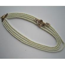 Collier de perles de verre 2015, Collier de bijoux de mode comme cadeau pour mère