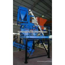 Автоматический бетонный смеситель с двумя валами JS750 Автоматическое смешивание для линии изготовления блоков