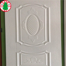 HDF door skin with natural wood veneer