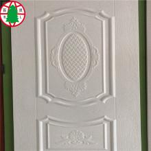 Piel de puerta HDF con chapa de madera natural
