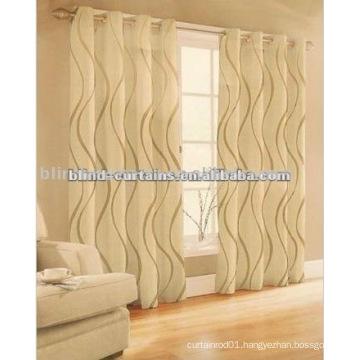 luxury and fashionable design jacquard fabric curtain