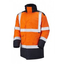 Good quality warming relflective safety warm jacket