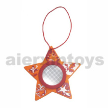 Wooden Kaleidoscope in Star Shape (80888)