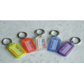 5.6*2.9*0.6cm translucent Key Chains