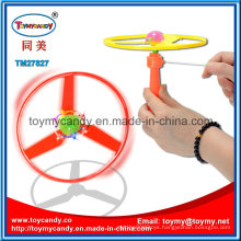 The Quality Playing Game Series Pushing Flashing Disc Plastic Toy